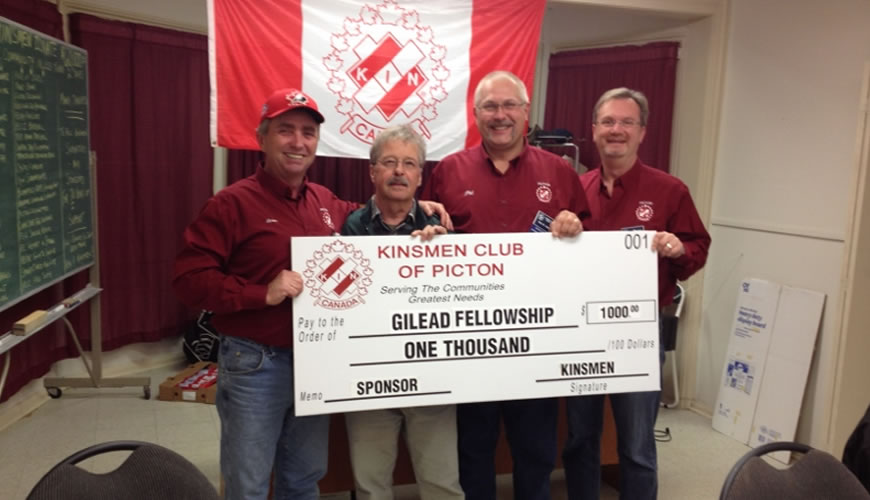 Gilead Fellowship Donation