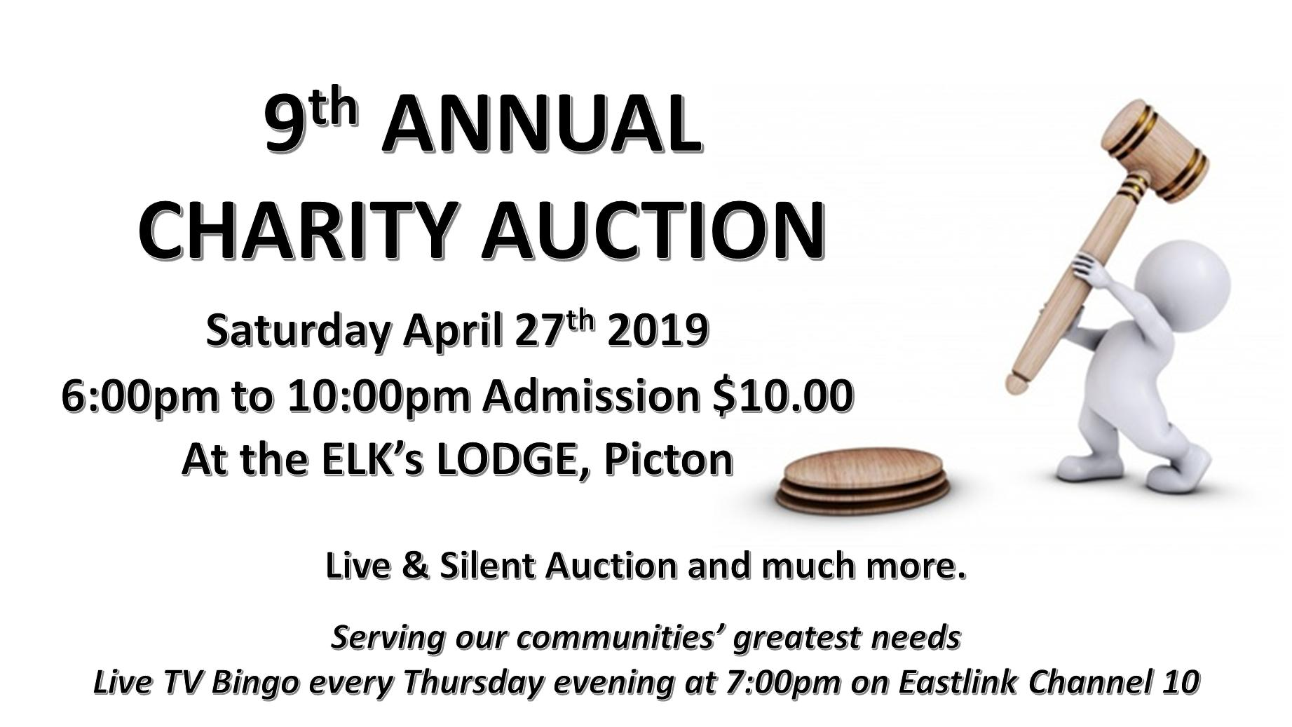 9th Annual Charity Auction