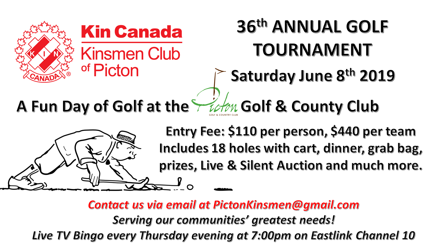 36th Annual Golf Tournament